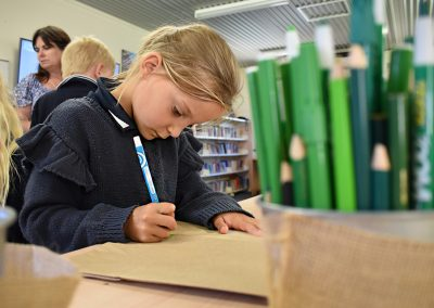 Children Writing